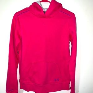 Under armour lined youth large storm hoodie